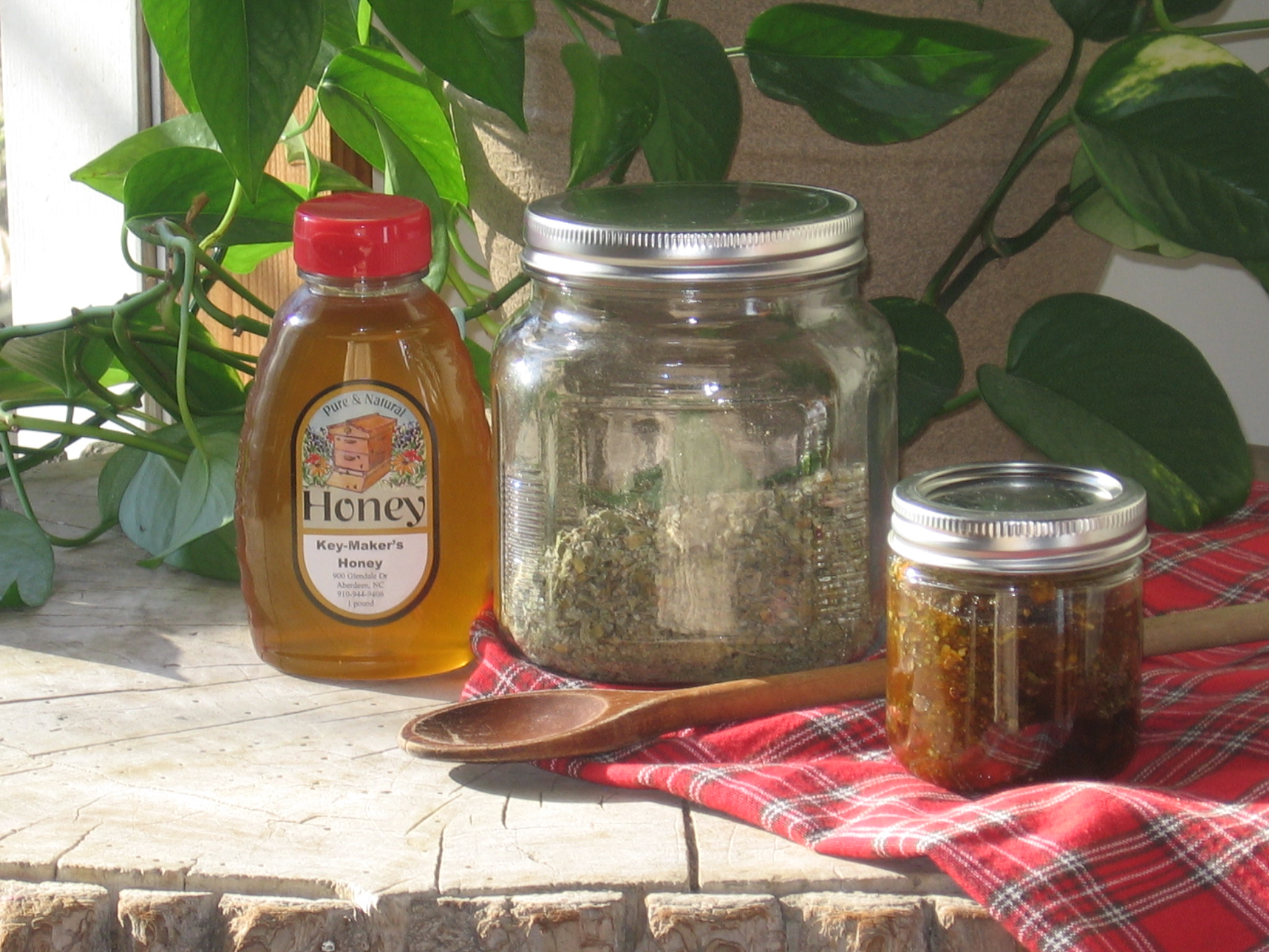 Homemade Cough Syrup – Herb Infused Honey