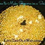 How to Make Popcorn in a Skillet