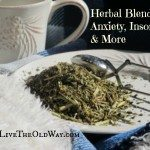 Herbal Blends For Anxiety, Insomnia And More