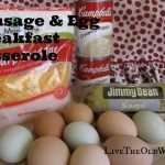 Sausage and Egg Make-Ahead Breakfast Casserole