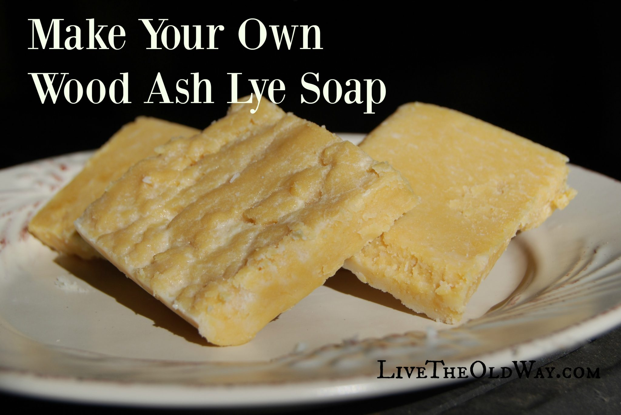 How to Make Lye Soap the Old Fashioned Way Frugally Sustainable 93