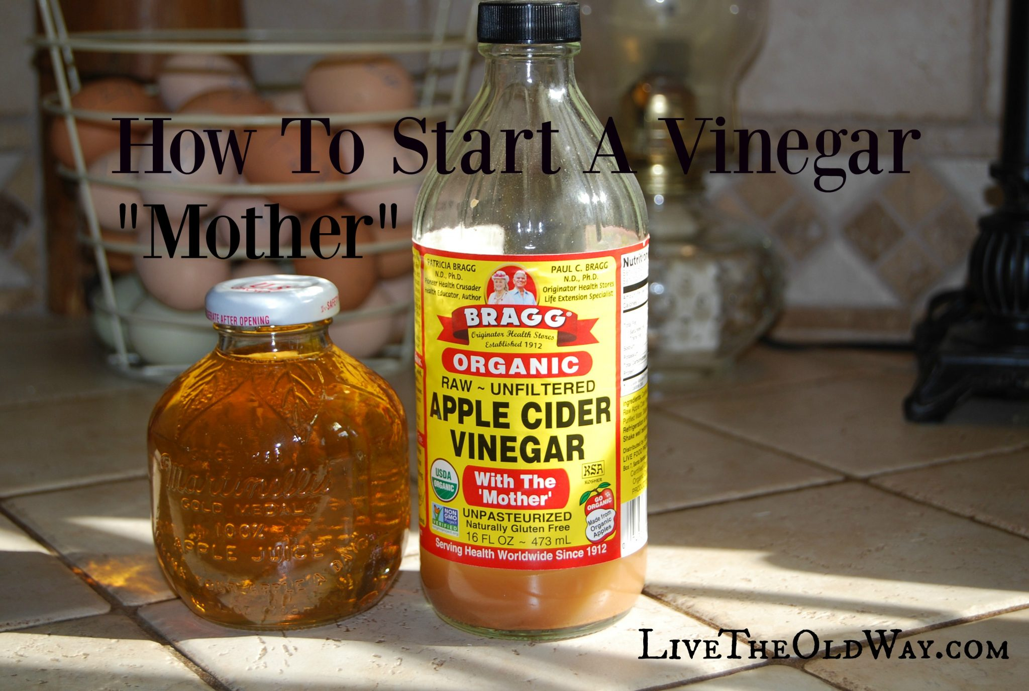 how to make a vinegar mother