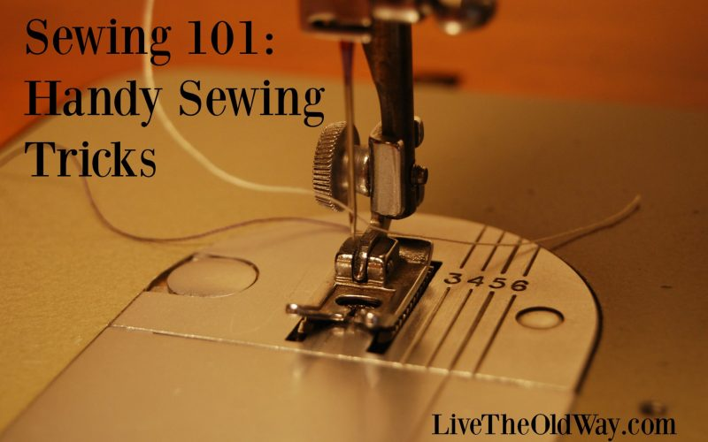 Sewing 101 – Handy Sewing Tricks