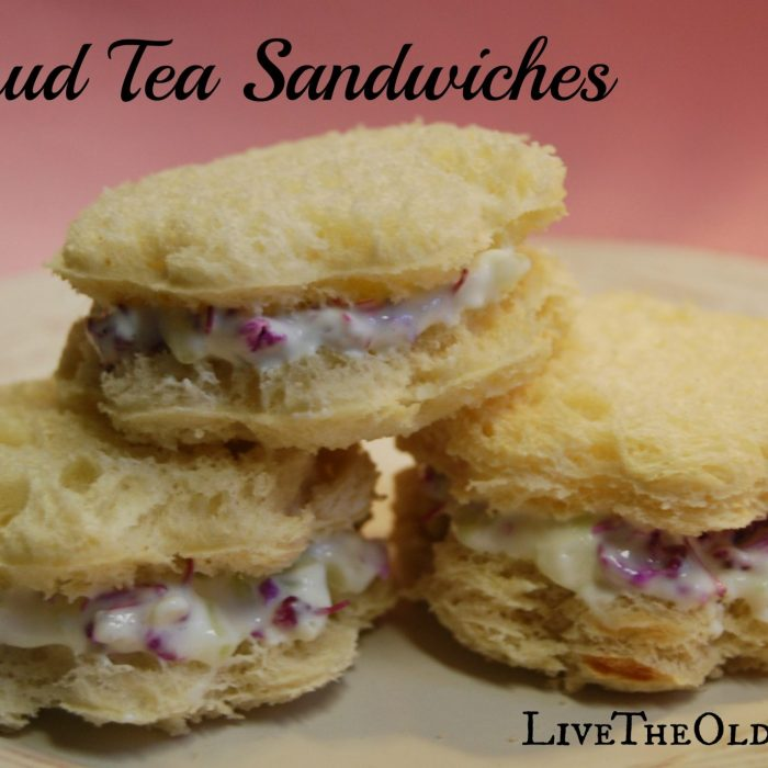 Redbud & Cucumber Tea Sandwiches