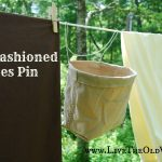 Quick & Easy Old Fashioned Clothes Pin Bag