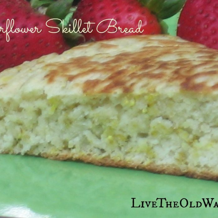 Elderflower Skillet Bread