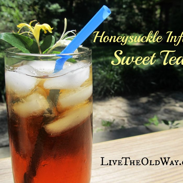 Honeysuckle Infused Sweet Tea