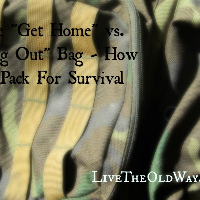 """Get-Home"" Bags – How To Pack For Survival In a Widespread Emergency"