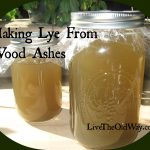 Making Lye From Wood Ashes