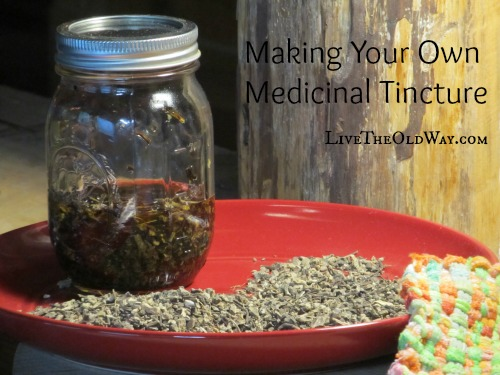 Making Your Own Medicinal Tinctures