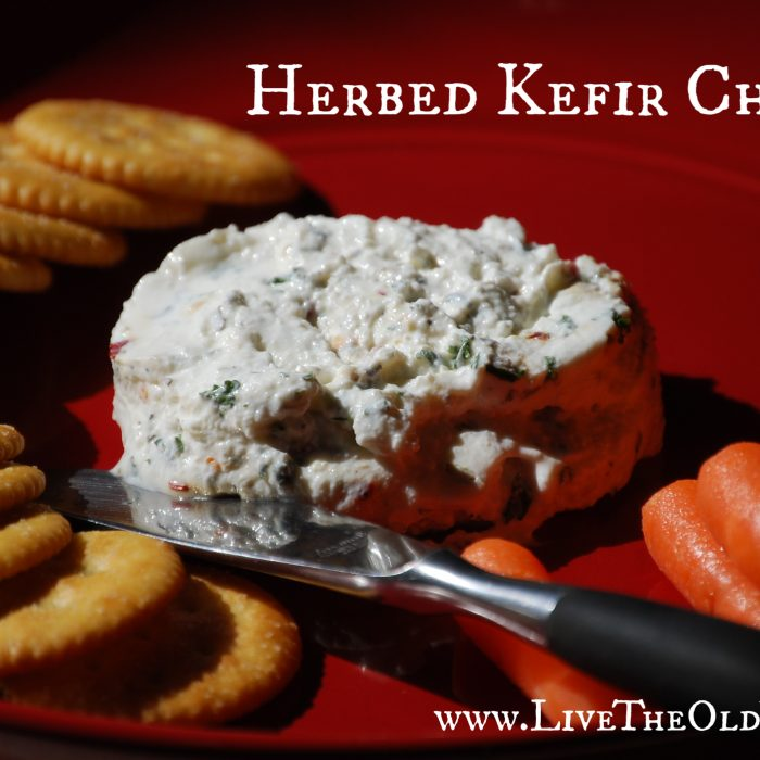 Herbed Kefir Cheese