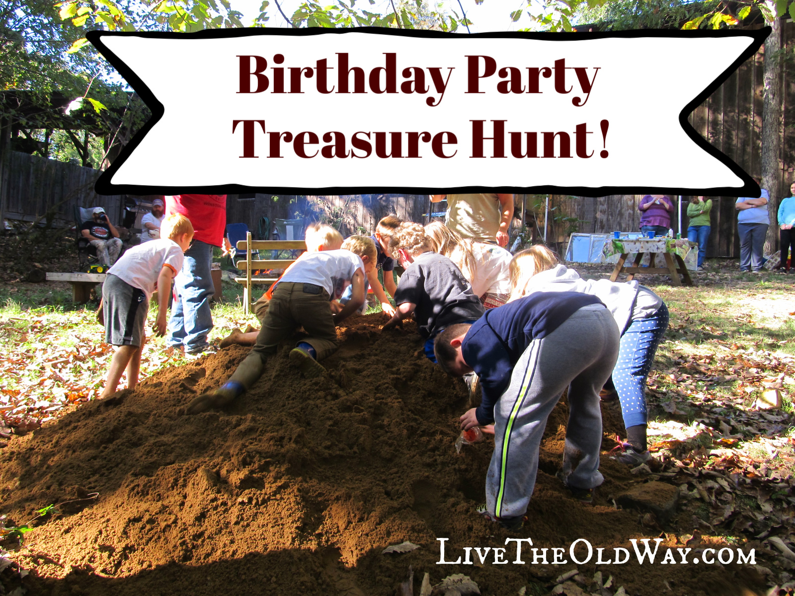 Birthday Party Treasure Hunt