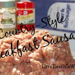 Homemade Country-Style Breakfast Sausage