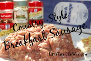 how to make your own sausage