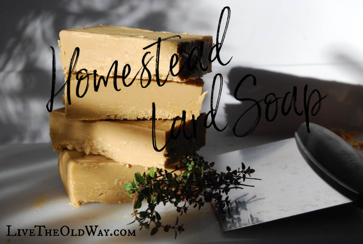 How to make soap from lard