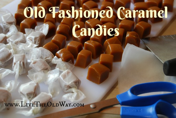 old fashioned caramel