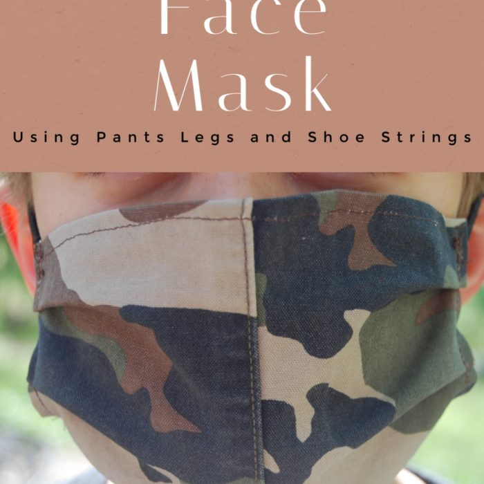 Adjustable Face Masks from Repurposed Materials