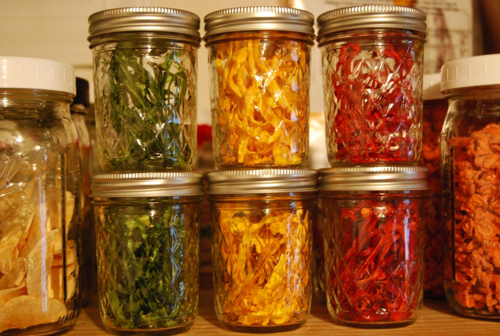 how to dehydrate peppers